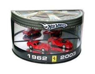 Mattel H6979 SET FERRARI 250 GTO + ENZO 140 1/64 Modellino