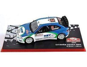 Abrex ABRMC036 CITROEN XSARA WRC N.62 6th MONTE CARLO 2005 M.STOHL-I.M.PETRASKO 1:43 Modellino
