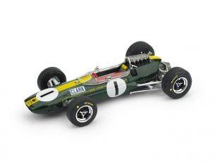 Brumm BM0592 LOTUS 33 J.CLARK 1965 N.1 WINNER GERMANIA GP 1:43 Modellino