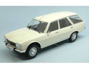 Mac Due MCG18035 PEUGEOT 504 BREAK WHITE DOORS & HOODS CLOSED 1:18 Modellino
