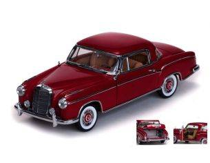 SunStar SS3563 MERCEDES 220 SE COUPE' 1958 RED 1:18 Modellino