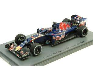 Spark Model S5020 TORO ROSSO STR11 D.KVYAT 2016 N.26 10th SPANISH GP 1:43 Modellino