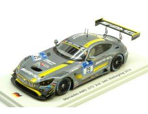 Spark Model SG232 MERCEDES GT3 N.29 2nd 24 H NURBURGRING 2016 VIETORIS-SEEFRIED 1:43 Modellino