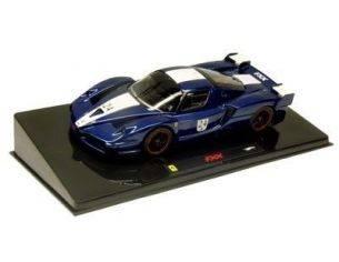 Mattel N5606 FERRARI FXX n.24 BLUE 1/43 Modellino
