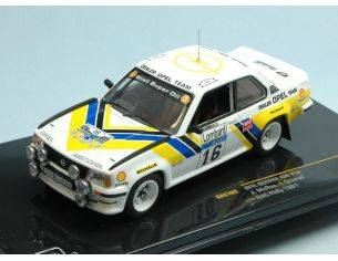 Ixo model RAC109 OPEL ASCONA N.16 RAC 1981 1:43 Modellino