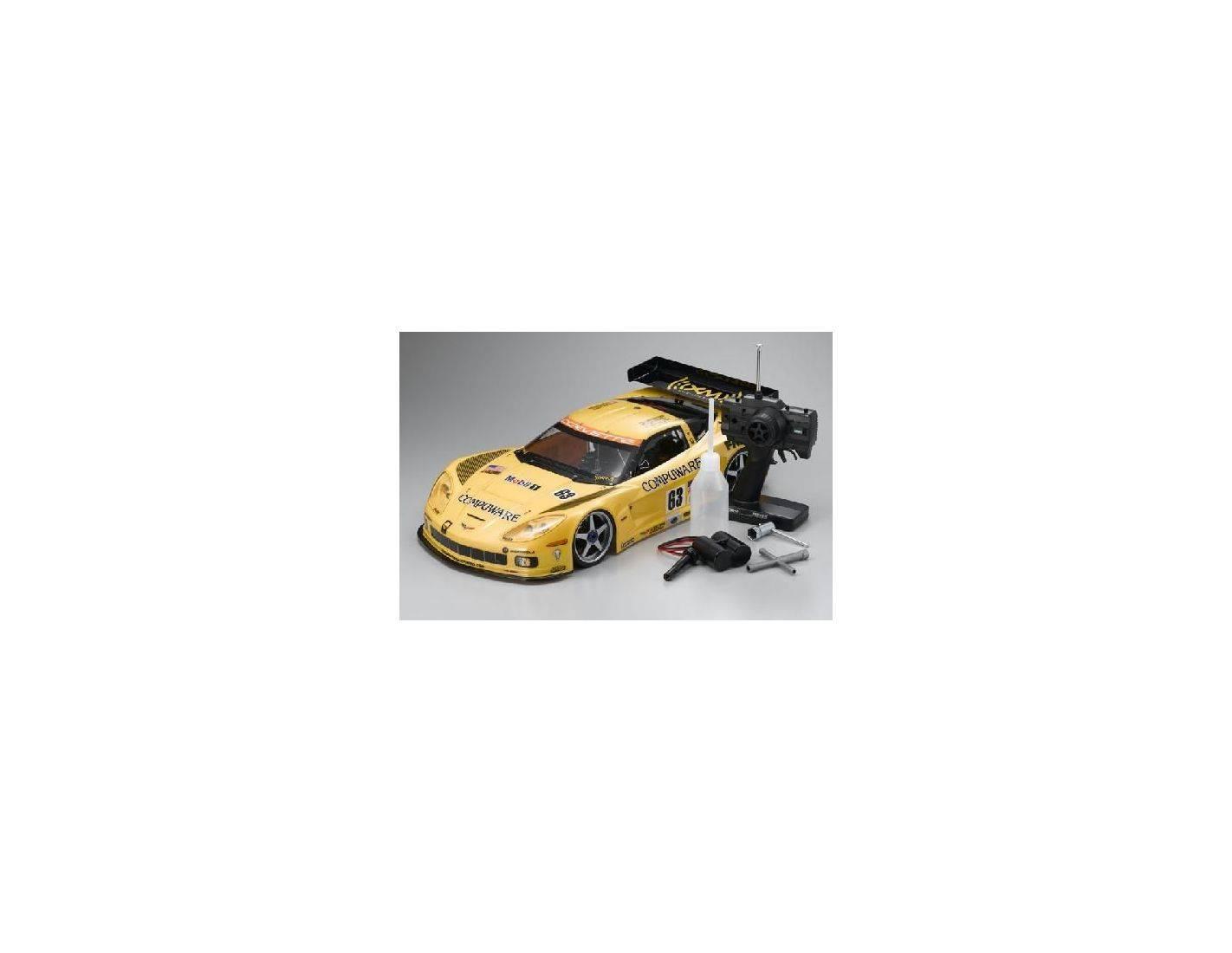 Kyosho 31816 Chevrolette Corvette Inferno GT2 C6-R 1:8 R/C 2 VELOCITA' Modellino
