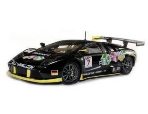 Bburago BU28001 LAMBORGHINI MURCIELAGO N.7 WINNER ZHUHAI FIA GT 2007 BOUCHUT-MUCKE 1:24 Modellino