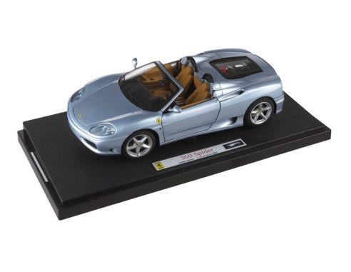 Hotwheels Mattel P9905 FERRARI 360 MODENA SPIDER 2000 1/18 Modellino
