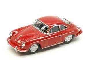 Schuco SH20132 PORSCHE 356 CARRERA 2 RED 1:64 Modellino