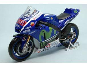 Maisto MI31408J YAMAHA J.LORENZO 2015 WORLD CHAMPION N.99 MOTOGP 1:10 Modellino