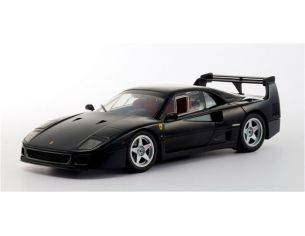 HOT WHEELS  ELITE P9932 FERRARI F40 BLACK NERA 1/43 Modellino