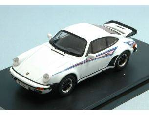 Protar PRXD109 PORSCHE 911 TURBO MARTINI 1975 WHITE 1:43 Modellino