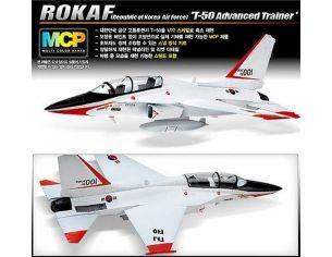 Accademy ACD12519 AEREO ROKAF T-50 ADVANCED TRAINER KIT 1:72 Modellino