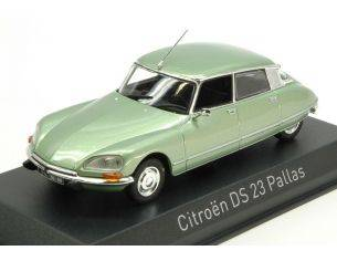 Norev NV157078 CITROEN DS 23 PALLAS 1973 GREEN METALLIC 1:43 Modellino