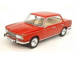 Mac Due MCG18041 BMW 2000 Ti (E120) 1966 RED 1:18 Modellino