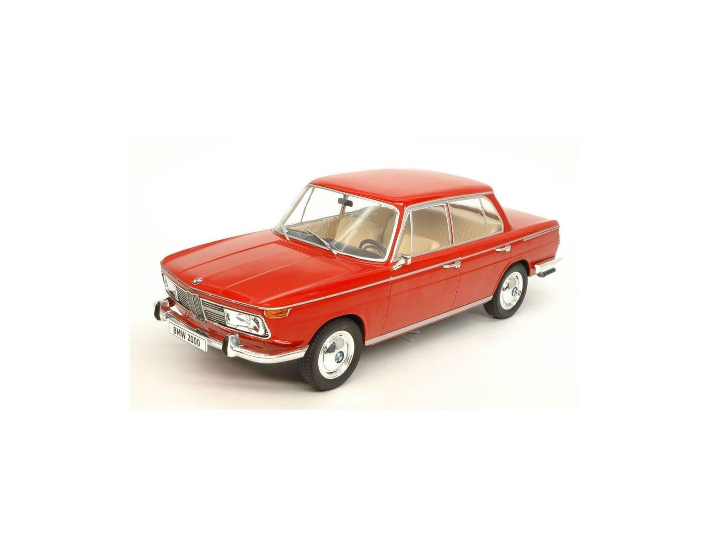 Mac due mcg18041 bmw 2000 ti e120 1966 red 1 18 modellino for Mac due the box