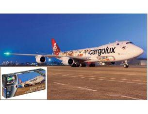 Revell RV04949 BOEING 747-BF CARGOLUX CUTAWAY KIT 1:144 Modellino
