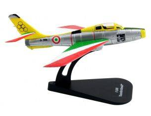 Italeri IT48121 F-84F THUNDERSTREAK GETTI TONANTI DIE CAST 1:100 Modellino