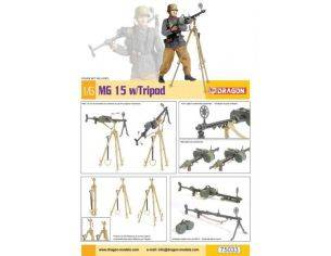 Dragon D75033 MG 15 W/TRIPOD (FIGURE NOT INCLUDED) KIT 1:6 Modellino