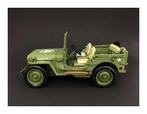 Triple 9 T9-1800142 JEEP WILLYS 1944 MILITARY POLICE GREEN 1:18 Modellino