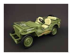Triple 9 T9-1800141 JEEP WILLYS 1944 US ARMY GREEN 1:18 Modellino