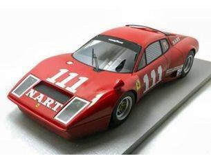 Top Model TMD1836A FERRARI 365 GT4 BB NART N.111 6th SEBRING 1975 M.MINTER-E.WIETZES 1:18 Modellino