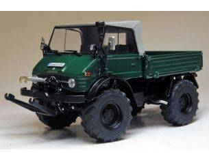 Welly WEIS1048 UNIMOG 406 (U84) 1971-1989 WITH SOFT TOP 1:32 Modellino