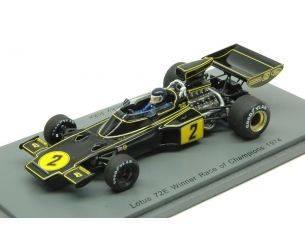 Spark Model S4834 LOTUS 72E J.ICKX 1974 N.2 WINNER RACE OF CHAMPIONS 1974 1:43 Modellino