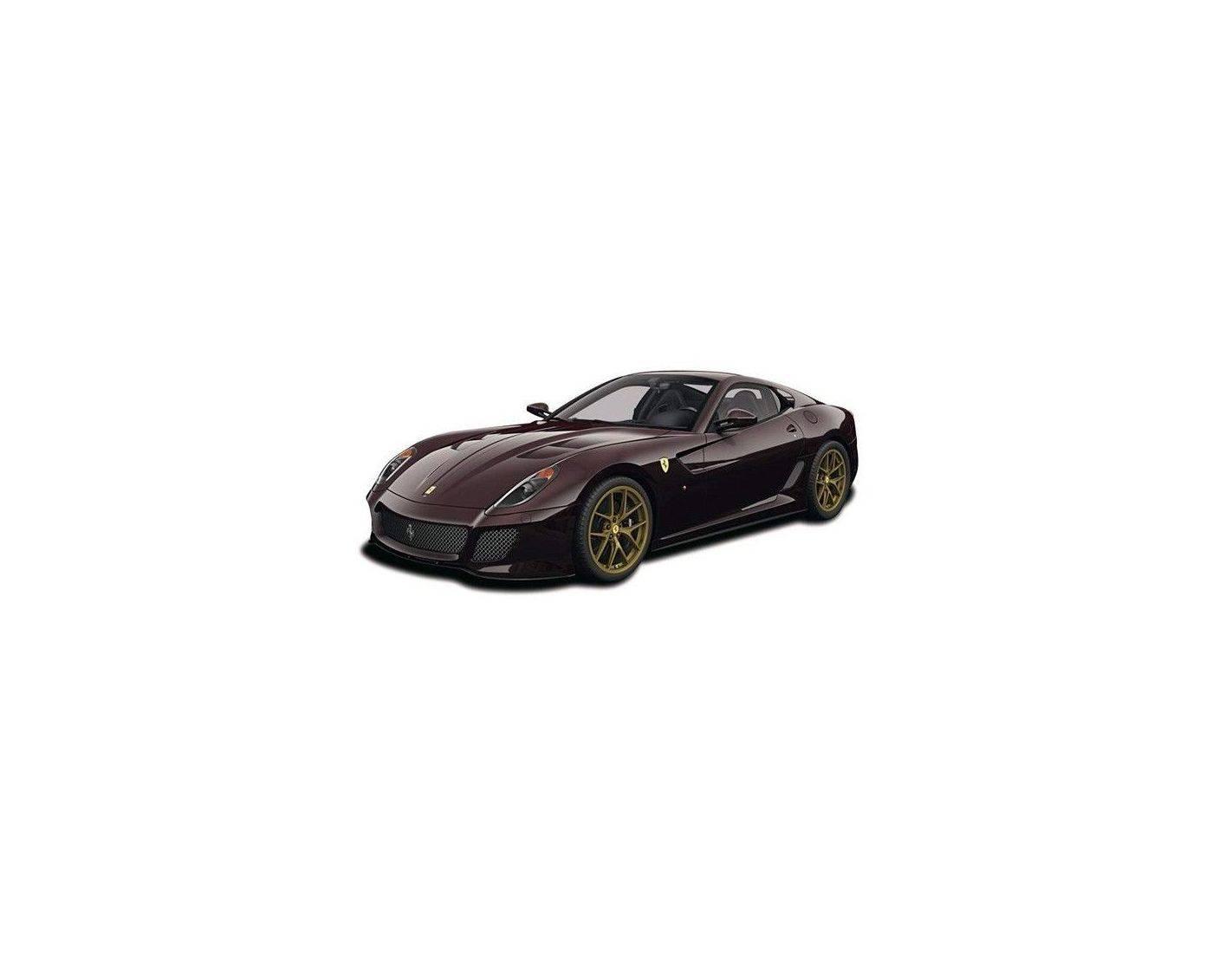 Hotwheels Elite V7424 FERRARI 599 GTO MICHAEL MANN 1/18 Modellino