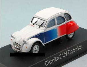 Norev NV151329 CITROEN 2 CV 1986 COCORICO' 1:43 Modellino