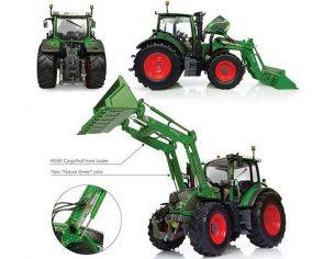 Universal Hobbies UH4981 FENDT 516 VARIO WITH FRONT LOADER 1:32 Modellino