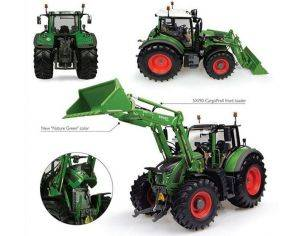 Universal Hobbies UH4975 FENDT 722 VARIO WITH FRONT LOADER 1:32 Modellino