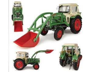 Universal Hobbies UH4946 FENDT FARMER 2 WITH CABIN & FRONT LOADER 1:32 Modellino