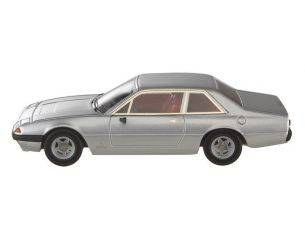 Mattel W1191 FERRARI 365 GT4 2+2 SILVER 1/43 Modellino