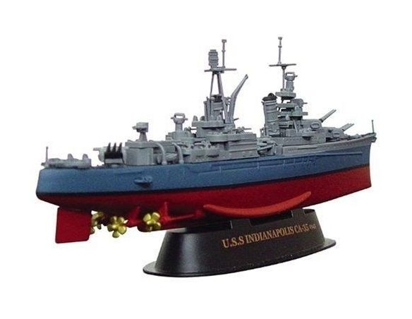Alpha International 09006 USS INDIANAPOLIS WAR VESSEL 1/700 Modellino
