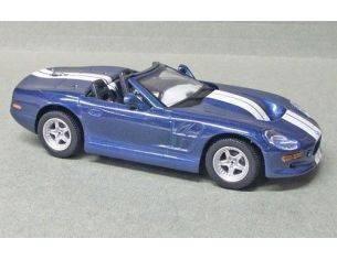 Maxicar 10083 SHELBY SERIES 1 BLU STRISCE BIANCHE Modellino