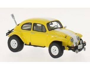 Neo Scale Models NEO45896 VW BAJA BUG 1969 YELLOW/GREEN 1:43 Modellino
