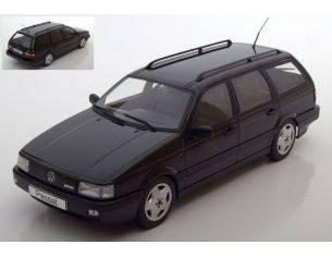 KK Scale KKDC180072 VW PASSAT B3 VR6 VARIANT 1988 BLACK METALLIC 1:18 Modellino