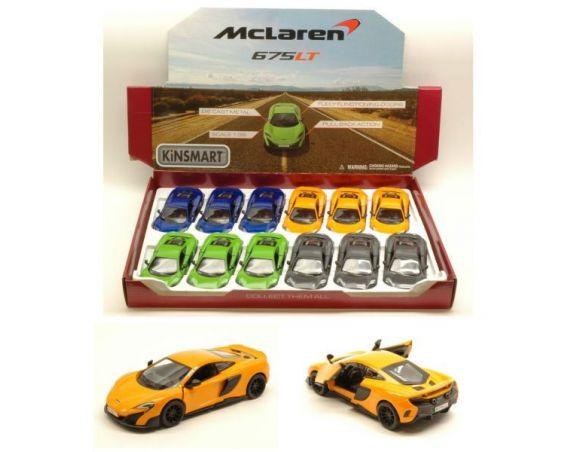 KINSMART KT5392D MC LAREN 675 LT 2016 1:36 Modellino