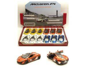 Hot Wheels KT5393DF MC LAREN P1 2016 WITH WING & STRIPES 1:36 Modellino