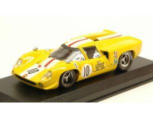 Best Model BT9644 LOLA T70 COUPE' N.10 DNF 12 H SEBRING 1968 J.BONNIER-S.AXELSSONN 1:43 Modellino