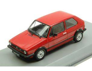 White Box WB239 VW GOLF 1 1600 GTI 1976 RED 1:43 Modellino