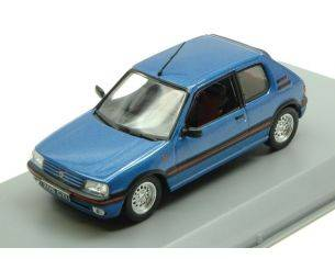 White Box WB244 PEUGEOT 205 1600 GTI 1992 METALLIC BLUE 1:43 Modellino