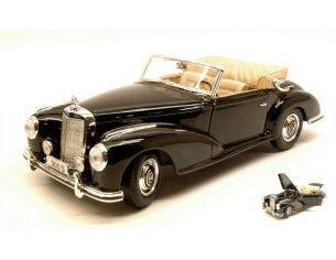 Maisto MI31806 MERCEDES 300 S CABRIO 1955 BLACK 1:18 Modellino