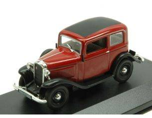 White Box WB151 OPEL P4 1935 DARK RED/BLACK 1:43 Modellino