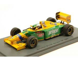 Spark Model S4773 BENETTON B193B R.PATRESE 1993 N.6 RETIRED MONACO GP 1:43 Modellino