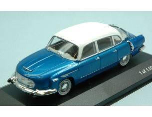 White Box WB152 TATRA 603 1970 METALLIC BLUE/WHITE 1:43 Modellino