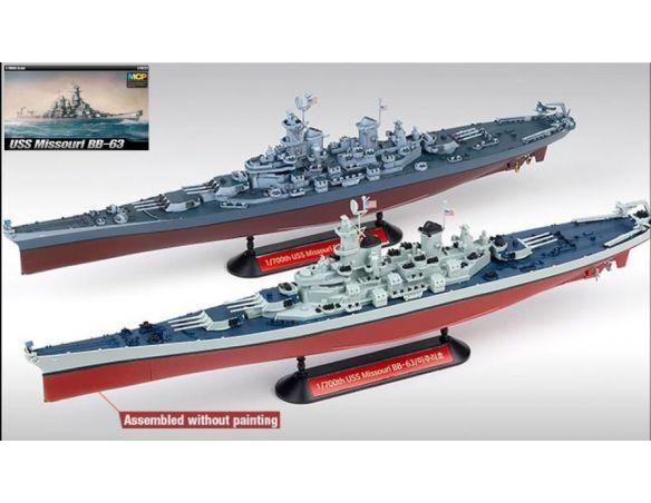 Accademy ACD14222 NAVE USS MISSOURI BB-63 KIT 1:700 Modellino
