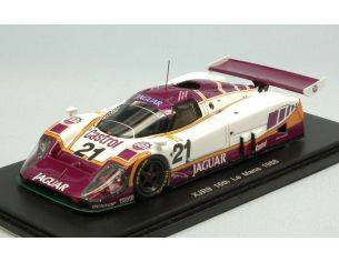 Spark Model S4719 JAGUAR XJR-9 N.21 16th LM 1988 D.SULLIVAN-D.JONES-P.COBB 1:43 Modellino