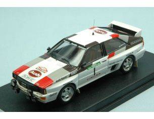 Trofeu TFRRAL45 AUDI QUATTRO N.1 2nd RALLY OF PORTUGAL 1983 M.MOUTON-F.PONS 1:43 Modellino